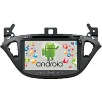 Opel Corsa Navigasyon Kamera Android Multimedya