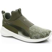 Puma Rebel Mid Kadın Yeşil Sneaker 363677.01