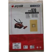Arçelik S 6960 Elektrikli Süpürge Uyumlu Kağıt Toz Torbası