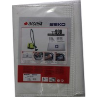 Beko BKS 9660 Y Elektrikli Süpürge Uyumlu Sentetik Toz Torbası