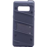 KNY Samsung Galaxy Note 8 Kılıf Ultra Korumalı Standlı İron Case