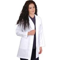 İnci Doktor Hemşire Öğretmen Önlüğü Beyaz Önlük Bayan