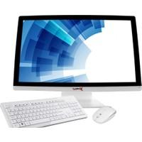 """Turbox TR2008 Intel Core i5 650 8GB 500GB R7 240 Freedos 26.5"""" FHD All In One Bilgisayar"""