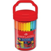 Faber-Castell Eğlenceli Keçeli Kalem 50'li (5068111550)