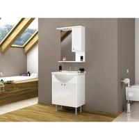 Hepsiburada Home Lavabolu Banyo Dolabı 60 cm Beyaz