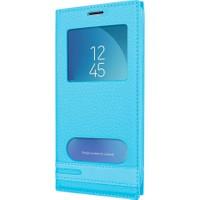 Microsonic Samsung Galaxy J3 Pro Kılıf Dual View Gizli Mıknatıslı