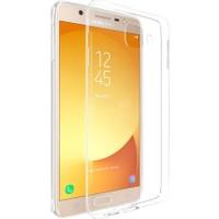Microsonic Samsung Galaxy J7 Max Kılıf Transparent Soft