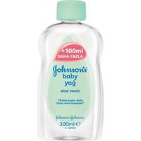 Johnsons Baby Aceite Aloe Vera'lı Bebek Yağı 300 Ml