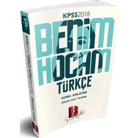 Benim Hocam 2018 Kpss Türkçe Konu Anlatımlı