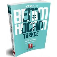 Benim Hocam 2018 Kpss Türkçe Tamamı Çözümlü Soru Bankası