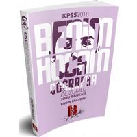 2018 Kpss Coğrafya Tamamı Çözümlü Soru Bankası Benim Hocam Yayınları