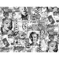 Additional Astarlı Pvc Muşamba Yuvarlak Kare Dikdörtgen Masa Örtüsü Marilyn Monroe