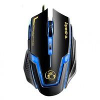 Power Kablolu Usb Işıklı Oyuncu Optik Mouse 3200Dpı Oyun Fare