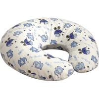 Janbebe Emzirme Destek Yastığı Bebek Oturma Yastığı Emzirme Yastığı Filli Mavi