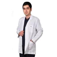 İnci Doktor-Hemşire-Öğretmen Önlüğü Beyaz Önlük Erkek