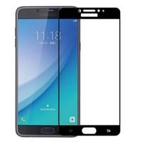 Samsung Galaxy C7 Pro Tam Kapatan Kırılmaz Cam