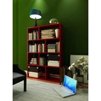 Hepsiburada Home Plaid Kitaplık Kırmızı