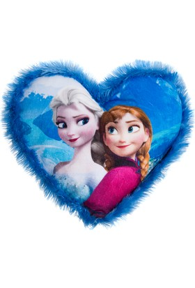 Frozen Heart Cushion Print
