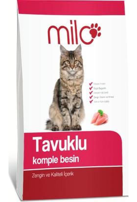 Milo Tavuk ve Komple Besin Kedi Maması 1 kg