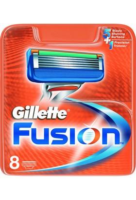 Gillette Fusion Yedek Tıraş Bıçağı 8'li