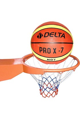 Delta Deluxe Basketbol Çemberi + Basketbol Topu + Basketbol Filesi - BSKP 81