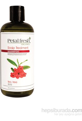 Petal Fresh Organics Tea Tree Shampoo 475 Ml.