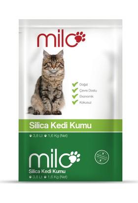 Milo Silica Kedi Kumu 3,8 lt (1,6kg) - 8'li