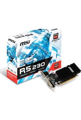MSI Amd Radeon R5 230 2GB 64Bit GDDR3 (DX11) PCI-E 2.1 Ekran Kartı R5 230 2GD3H LP