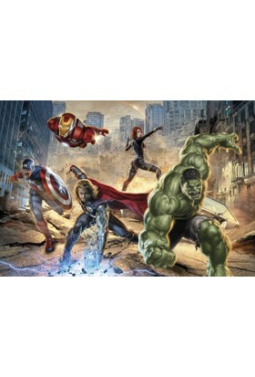 Disney Edition 8-432 Avengers Street Rage Duvar Posteri
