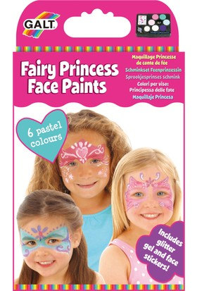 Galt Fairy Princess Face Paints 5 Yaş+