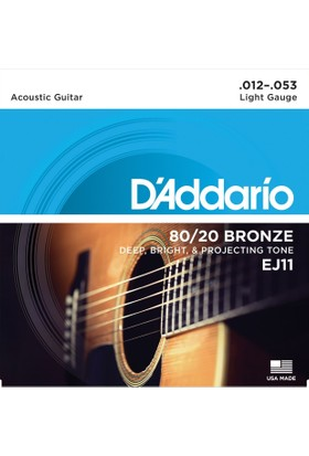 Daddarıo Ej11 Akustik Tel Set Light (0.12)