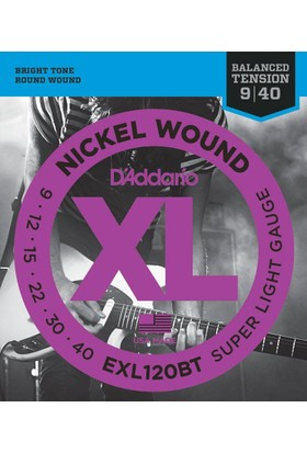 Daddarıo Exl120Bt Elektro Gitar Teli Gtr Bal Xl Sup Lıte