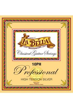 La Bella 10Ph Klasik Gitar Teli Professıonal Hıgh Tensıon Sılver