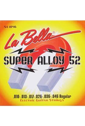La Bella Sa1046 Elektro Gitar Teli Super Alloy 52 – Regular 10-46