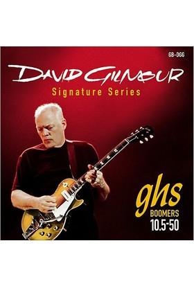 Ghs Gb-Dgg David Gilmour Elektro Gitar Teli Signature *Les Paul* 10.5 - 50 -
