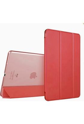 İpad Air Smart Case Standlı Kılıf Kırmızı