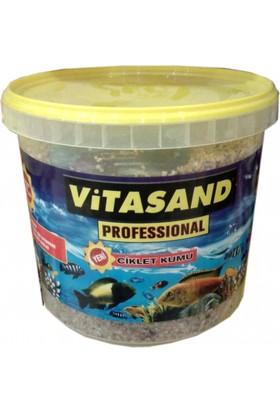 Vitasand Pro-04 Yıkanmış Akvaryum Kumu Midye Kırığı 8,5kg