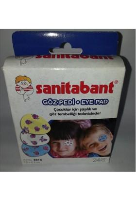 Sanitabant Çocuklar İçin Göz Pedi 24 Adet