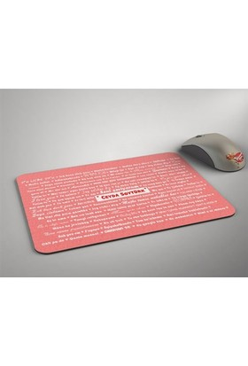 BuldumBuldum 100 Dilde Seni Seviyorum Mouse Pad