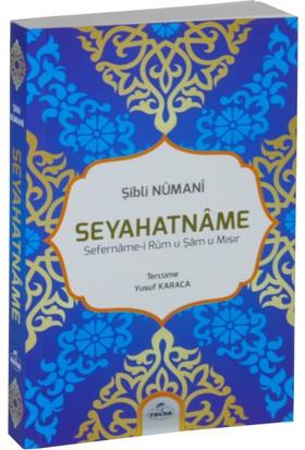 Seyahatname Sefername-İ Rumu Şamu Mısır