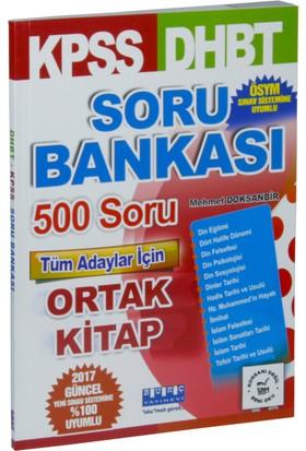 Burç Yayınları Kpss Dhbt Soru Bankası 500 Soru Tüm Adaylar İçin Ortak Kitap
