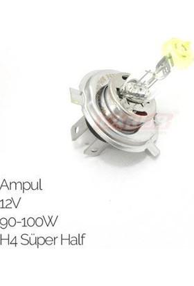 Carub Ampul 12V 90-100W H4 Süper Half Sarı