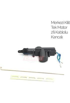 Carub Merkezi Kilit Tek Motor 2Li Kablolu Kancalı