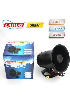 Carub Siren 12V 20W 6 Sesli Güvenlik