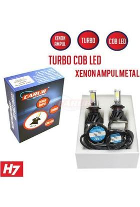 Carub Xenon Turbo Fanlı Cree Led Metal H7 Beyaz