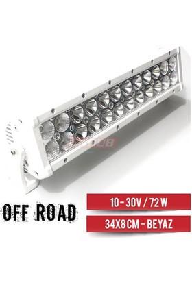 Carub Projektör 10-32V- 72W Off-Road 34X8Cm Beyaz