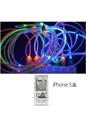 Demircioğlu Araç Şarjı 12V Iphone 5-5S 7 Renk Işıklı