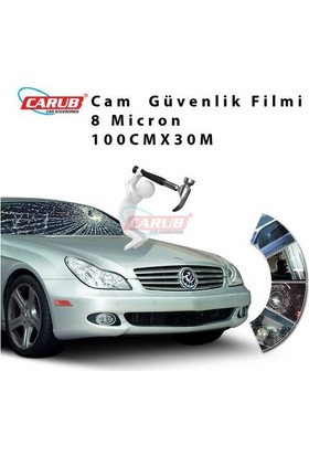 Demircioğlu Cam Filmi 100Cmx30M Çizilmez Güv8Mil Sf200Cl
