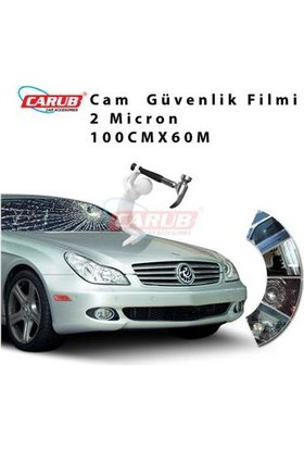 Demircioğlu Cam Filmi 100Cmx60M Çizilmez Güv 2Mil Sf50Cl