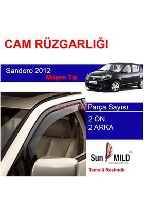 Demircioğlu Dacia Sandero Mugen Cam Rüzgarlığı 2012 4Lü